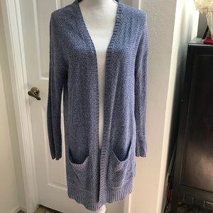 Sweaters - BDG Open Knit Long Cardigan Sz Med